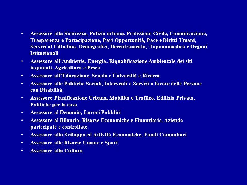 LIVELLO NAZIONALE PARLAMENTO PARLAMENTARI GOVERNO MINISTRI MINISTERI LIVELLO LOCALE CONSIGLIO COMUNALE CONSIGLIERI GIUNTA ASSESSORI ASSESSORATI