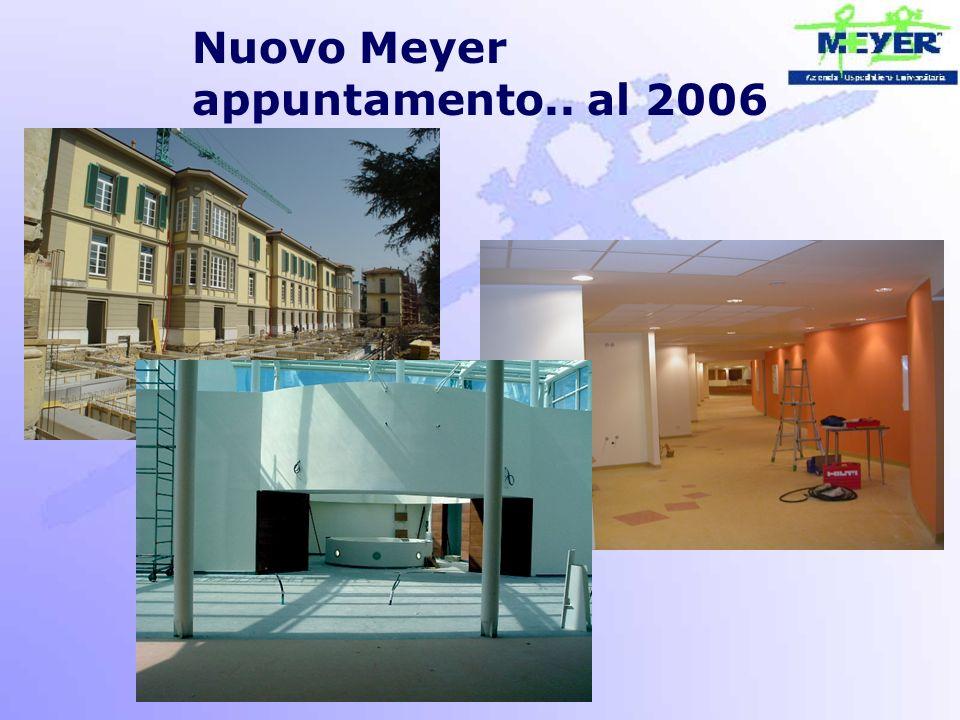 Nuovo Meyer appuntamento.. al 2006