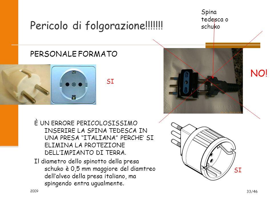 IMPIANTO DI TERRA ? NO, GRAZIE 2009 32/46