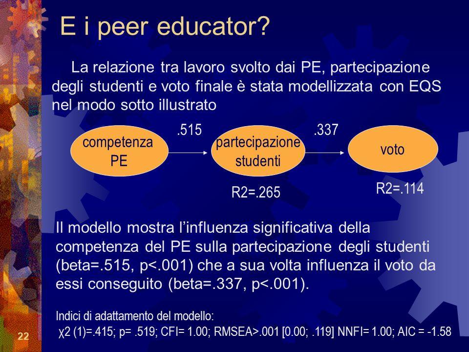 22 E i peer educator.