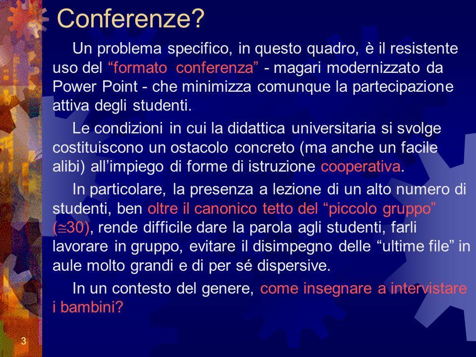 3 Conferenze.