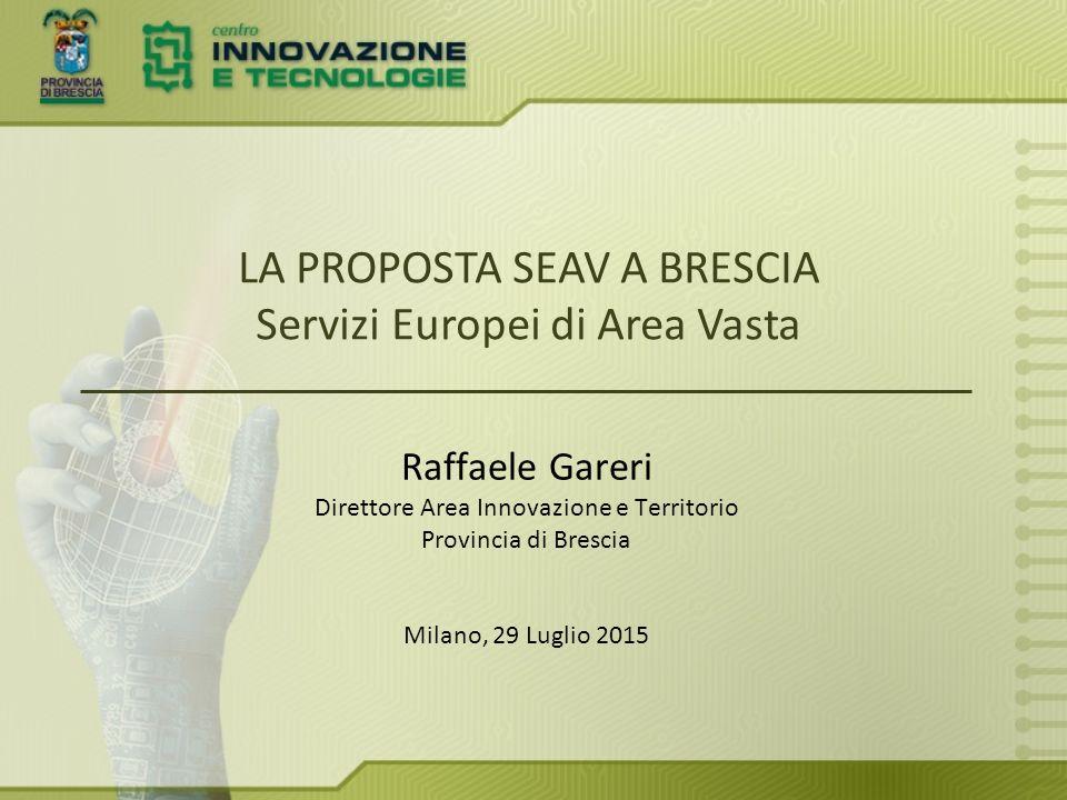 SEAV nasce a seguito della riforma Delrio (56/14), che attribuisce nuove competenze alle Province.