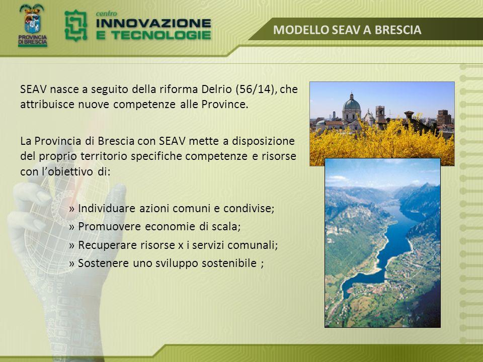 La Provincia di Brescia, con la pianificazione di Area Vasta, ha raccolto la sfida di diventare la Casa dei Comuni .