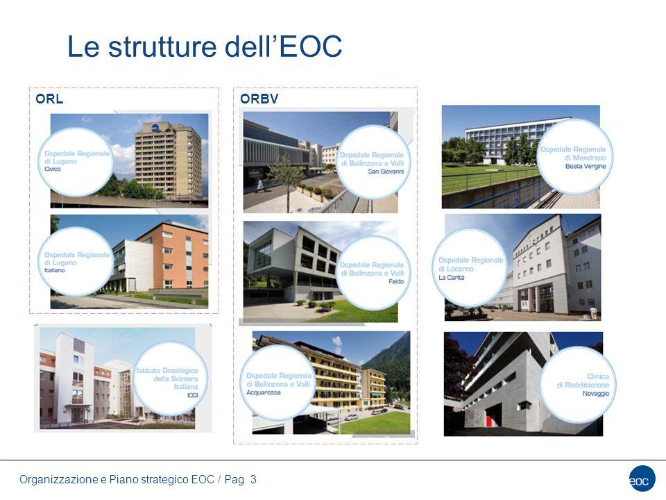 Organizzazione e Piano strategico EOC / Pag. 3 Le strutture dell'EOC ORLORBV