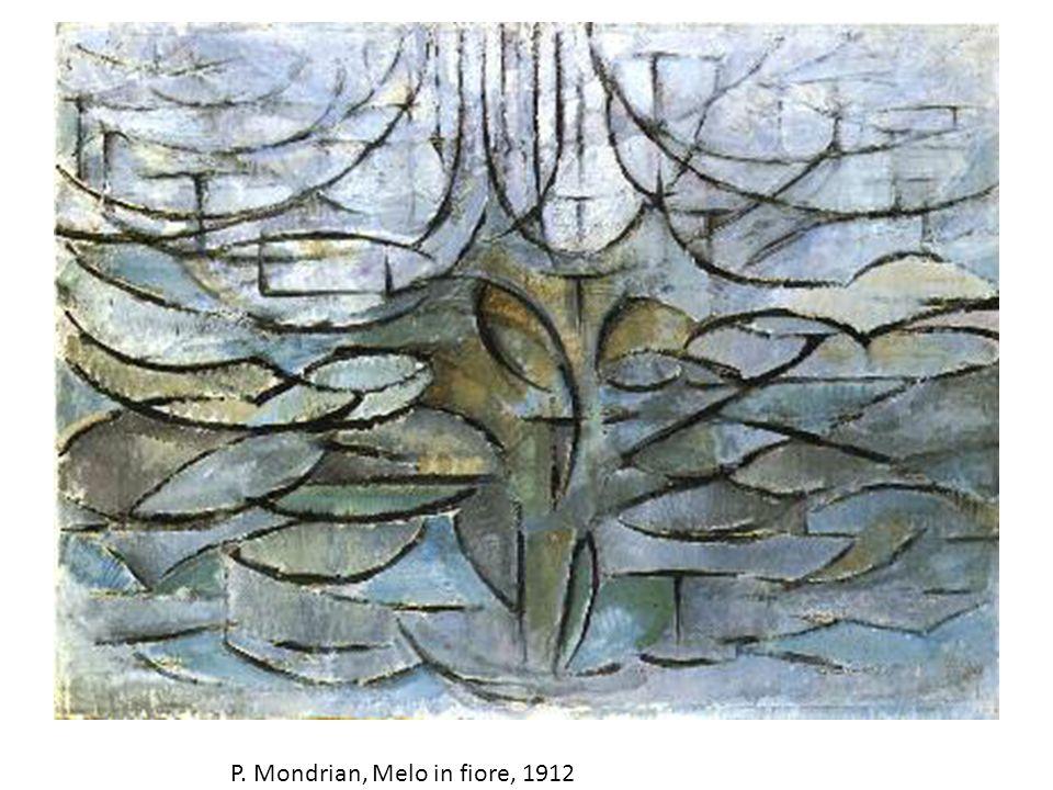 P. Mondrian, Melo in fiore, 1912