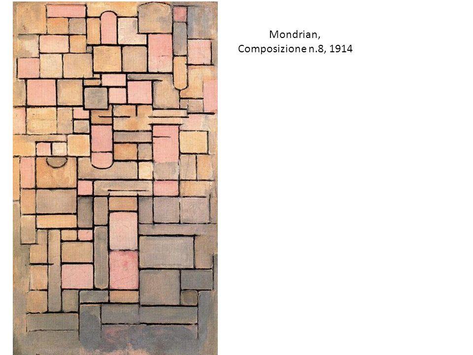 Mondrian, Composizione n.8, 1914