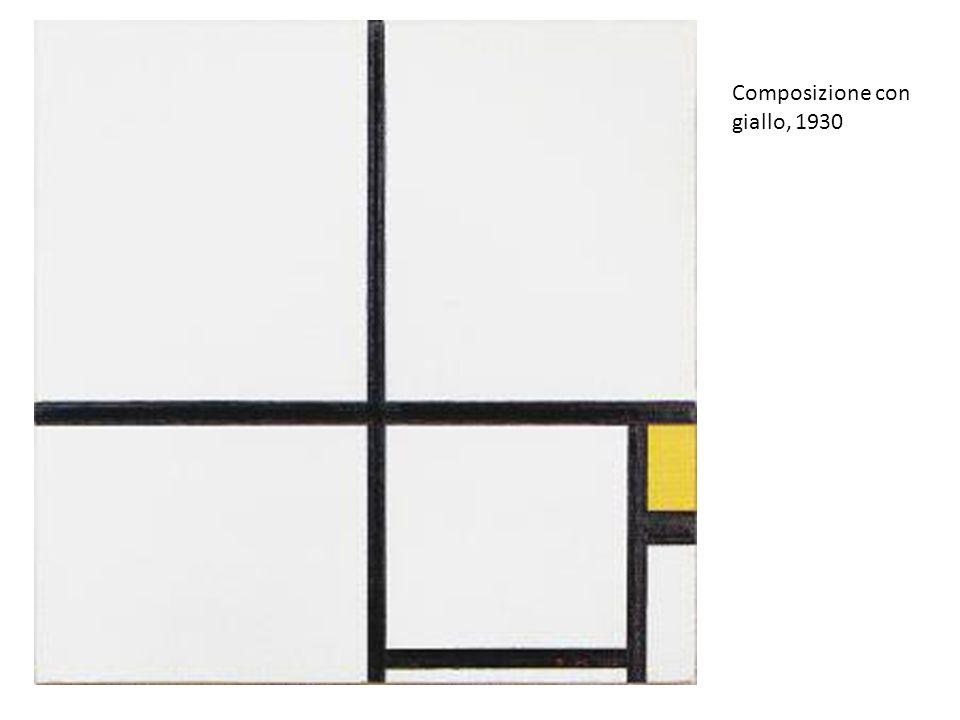 Composizione con giallo, 1930