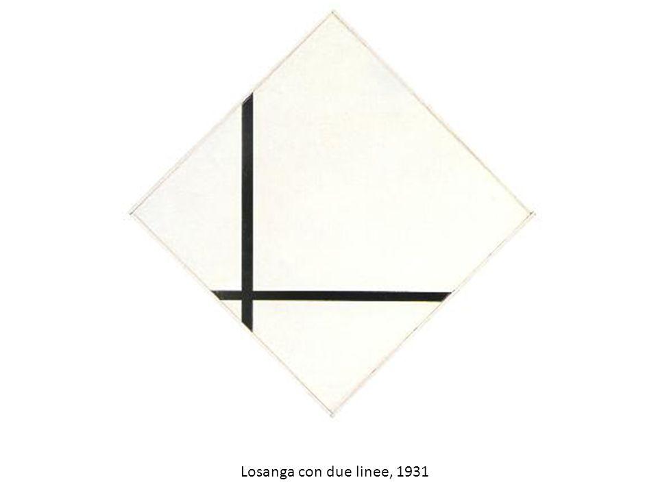 Losanga con due linee, 1931