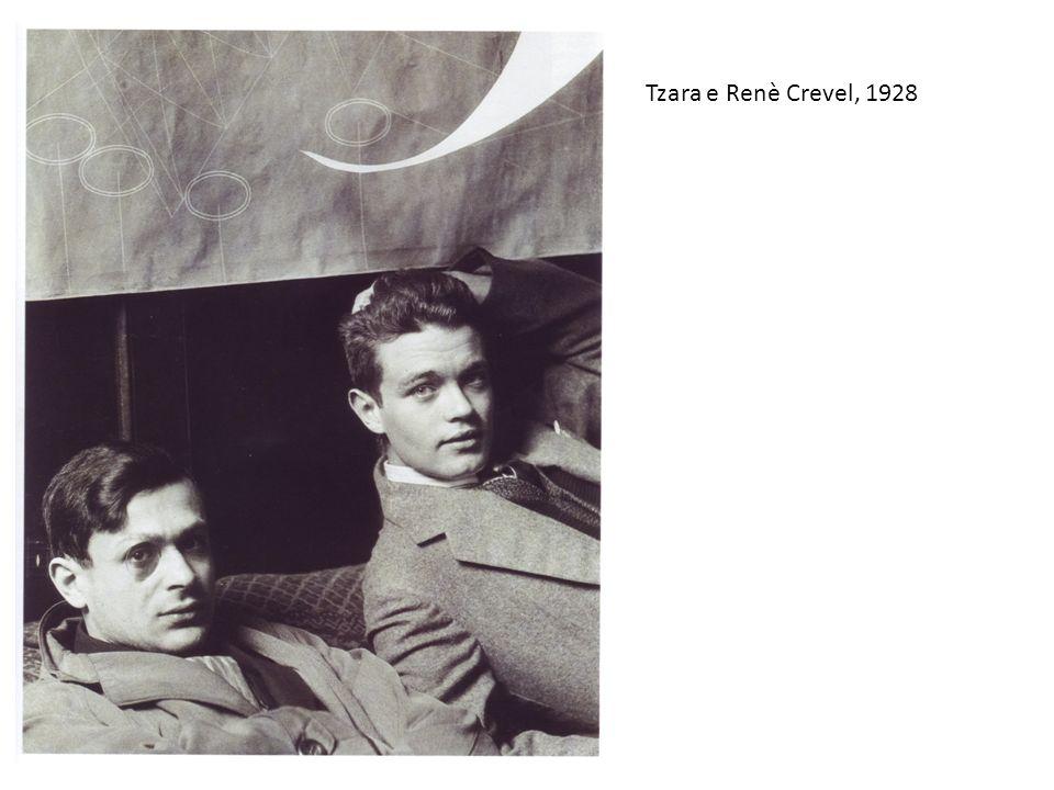 Tzara e Renè Crevel, 1928