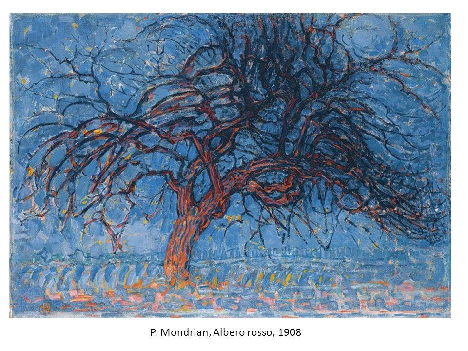 P. Mondrian, Albero rosso, 1908