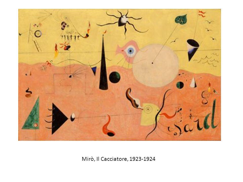 Mirò, Il Cacciatore, 1923-1924