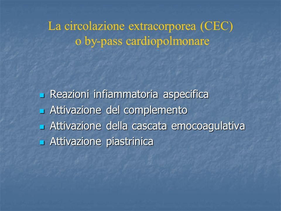Reazioni infiammatoria aspecifica Reazioni infiammatoria aspecifica Attivazione del complemento Attivazione del complemento Attivazione della cascata