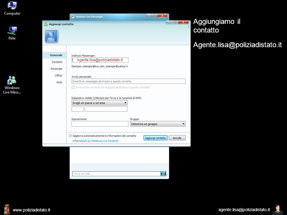 www.poliziadistato.it agente.lisa@poliziadistato.it Incontriamo Lisa 4