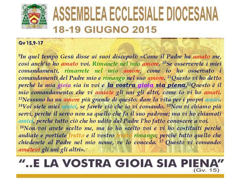 EG 4: LA GIOIA NELL'AT Il profeta Isaia si rivolge al Messia atteso salutandolo con giubilo: «Hai moltiplicato la gioia, hai aumentato la letizia» (9,2).