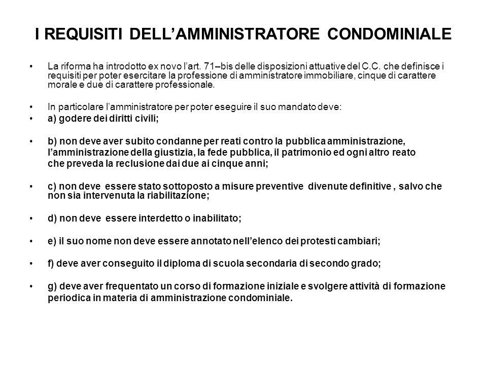 Modifiche alla Riforma del Condominio: Decreto Legge del 23.12.2013 n.