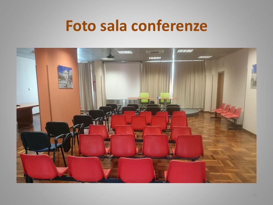 Foto sala conferenze 15