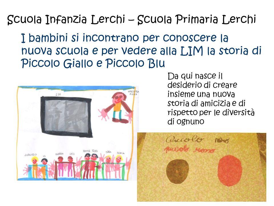 Scuola Infanzia Lerchi – Scuola Primaria Lerchi I bambini si incontrano per conoscere la nuova scuola e per vedere alla LIM la storia di Piccolo Giall