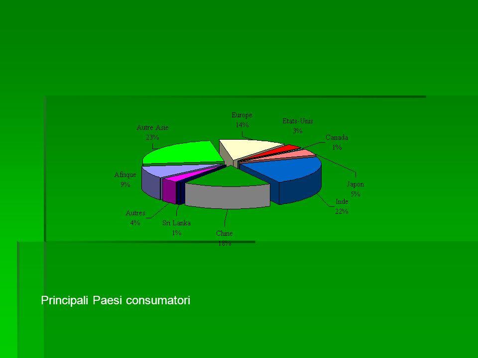 Principali Paesi consumatori