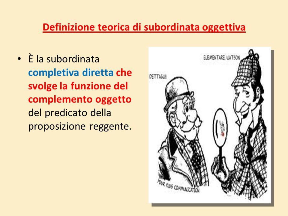 Le subordinate oggettive Le regole e l'immaginazione, p. 281