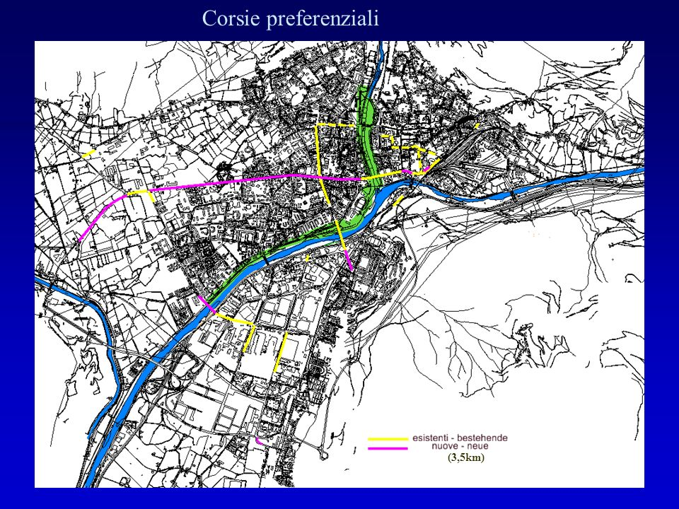 Corsie preferenziali (3,5km)