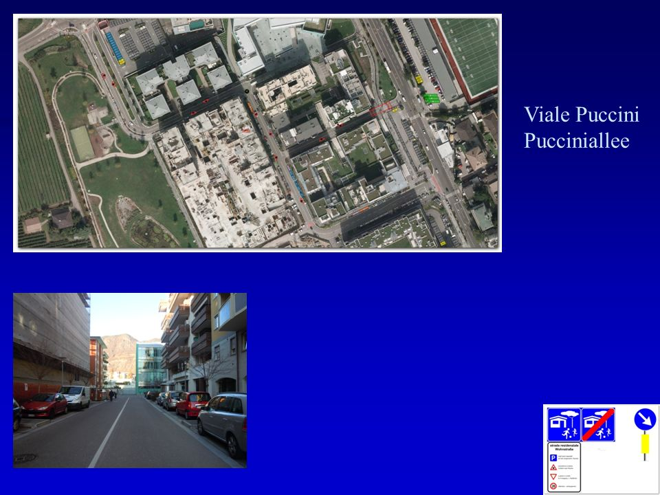 Viale Puccini Pucciniallee