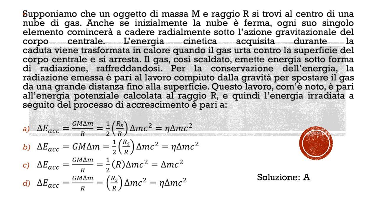  Soluzione: A