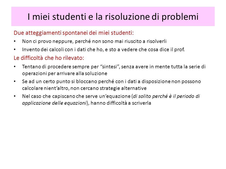 Esempio (continua) (P2) viene assegnato anche alla scuola media, (P3) no.
