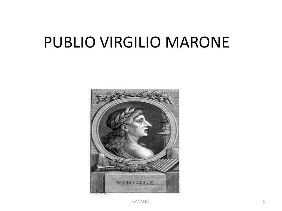 PUBLIO VIRGILIO MARONE 1CANANA