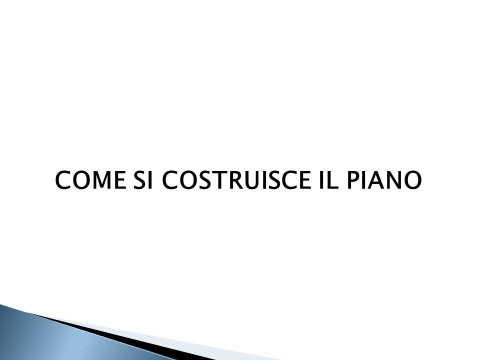 COME SI COSTRUISCE IL PIANO