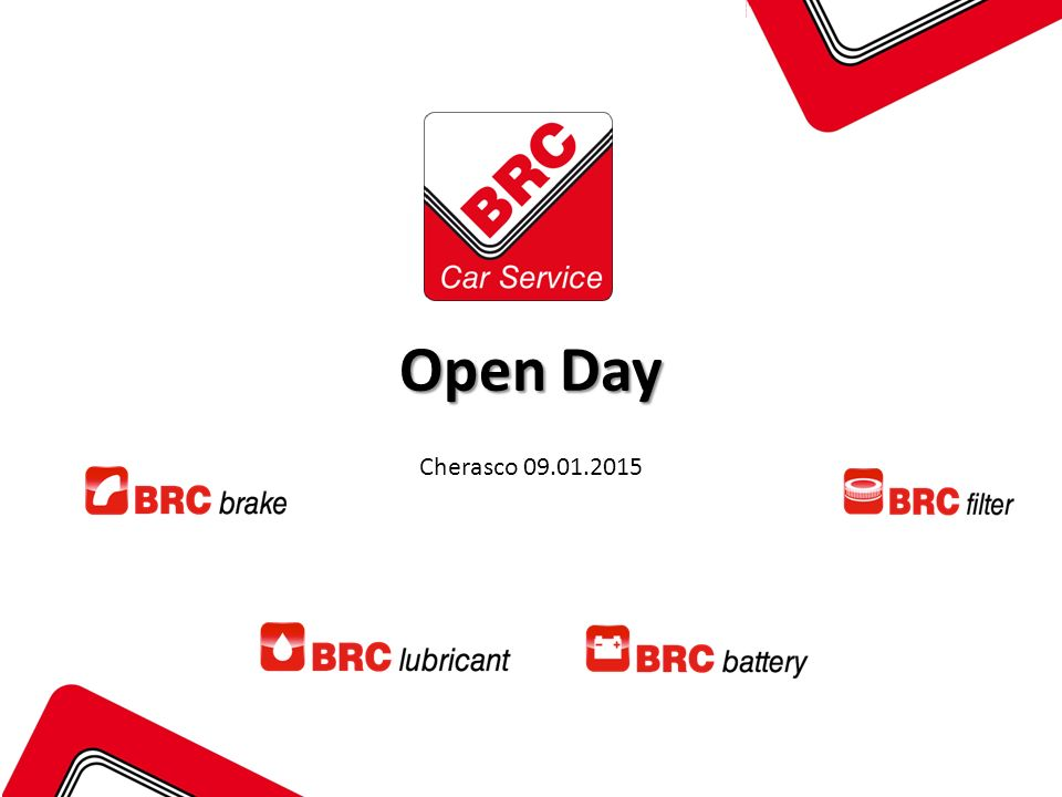 Open Day Cherasco 09.01.2015