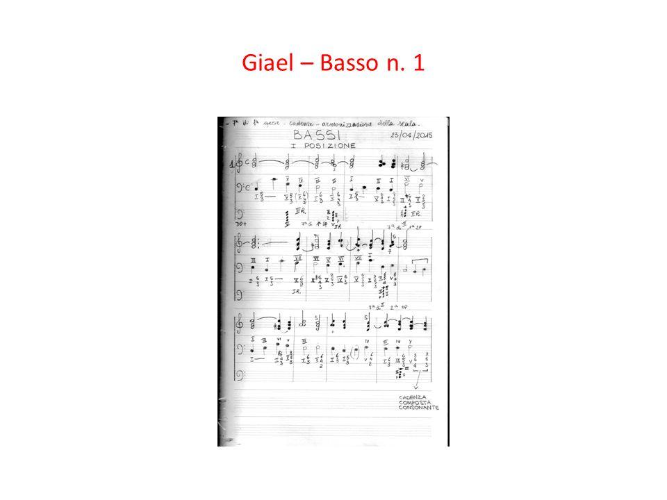 Giael – Basso n. 1