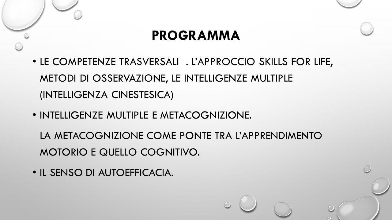 TESTI CONSIGLIATI LA MATEMATICA CON IL CORPO.Benvenuti e Grimaldi.