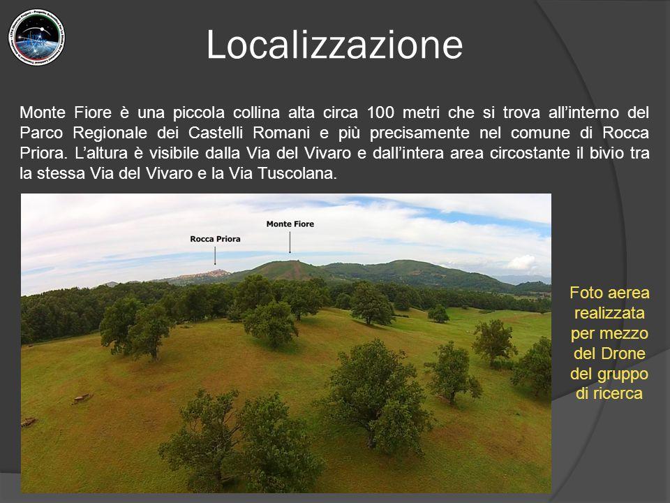 Localizzazione Monte Fiore è una piccola collina alta circa 100 metri che si trova all'interno del Parco Regionale dei Castelli Romani e più precisamente nel comune di Rocca Priora.