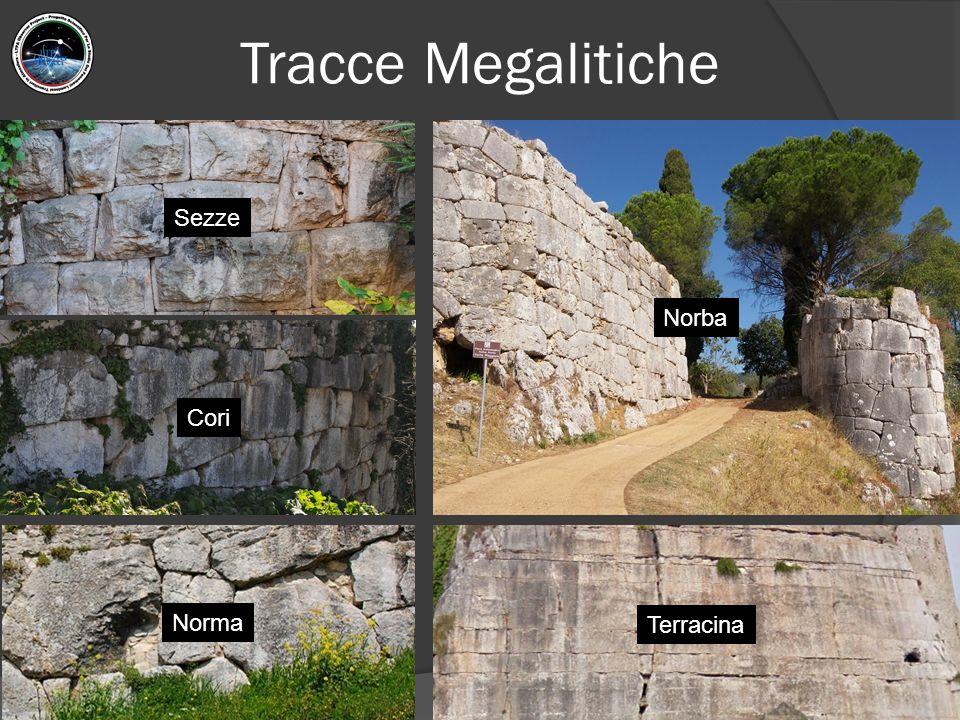 Tracce Megalitiche Sezze Cori Norba Norma Terracina