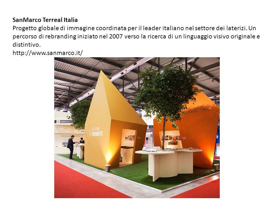 SanMarco Terreal Italia Progetto globale di immagine coordinata per il leader italiano nel settore dei laterizi. Un percorso di rebranding iniziato ne
