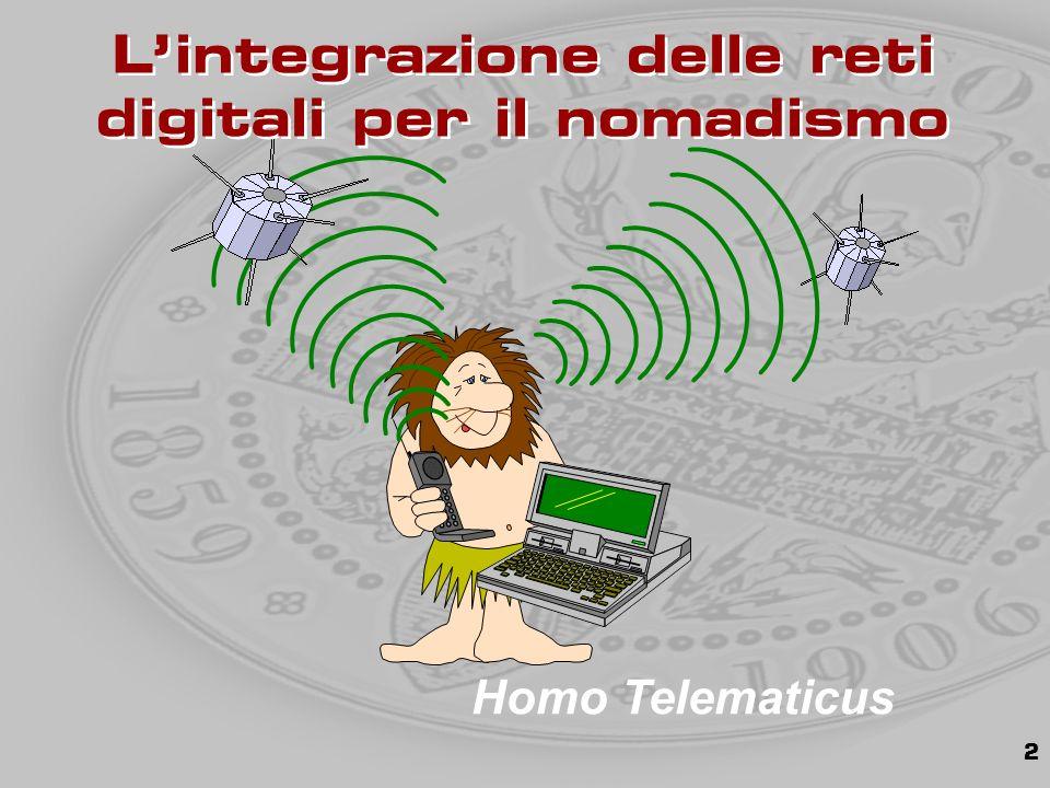 2 Homo Telematicus L'integrazione delle reti digitali per il nomadismo