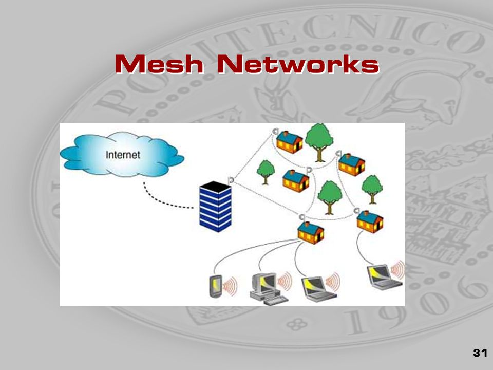 31 Mesh Networks