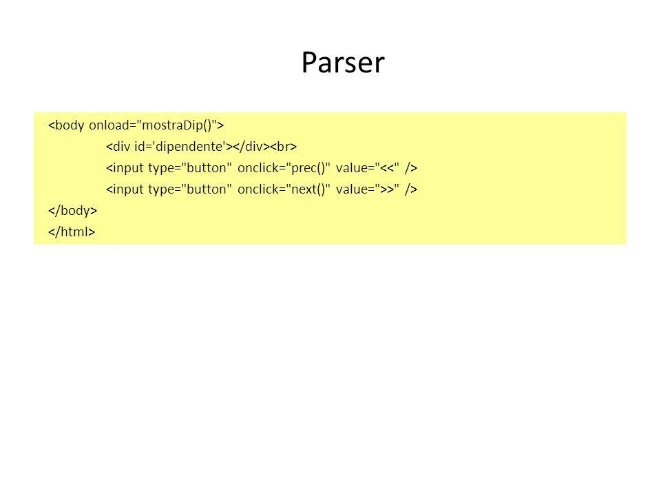 Parser > />