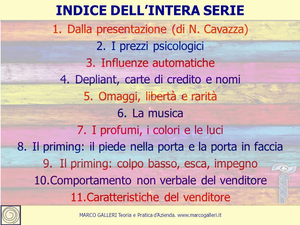 14 MARCO GALLERI Teoria e Pratica d'Azienda.