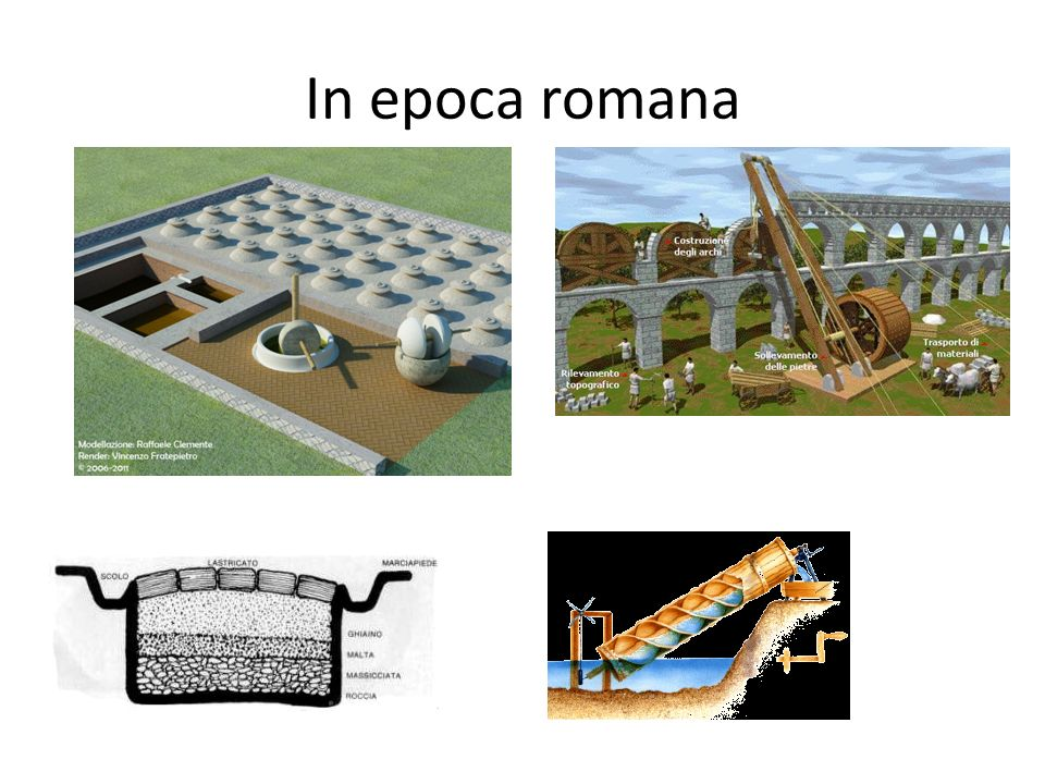 In epoca romana
