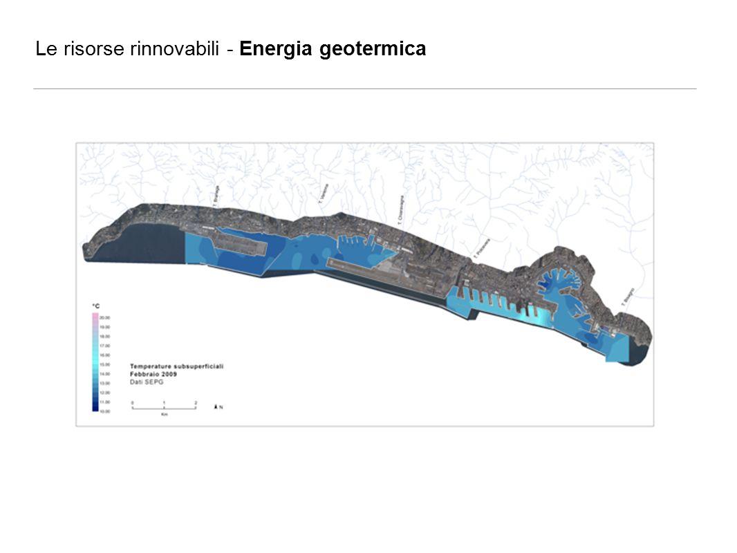 Le risorse rinnovabili - Energia geotermica