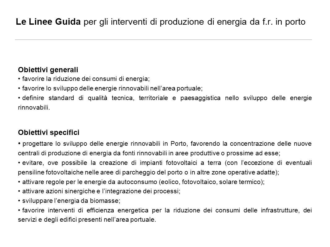 Le Linee Guida per gli interventi di produzione di energia da f.r.