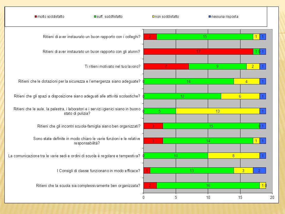Questionari somministrati agli alunni delle classi V della scuola primaria compilati in formato excel tramite computer