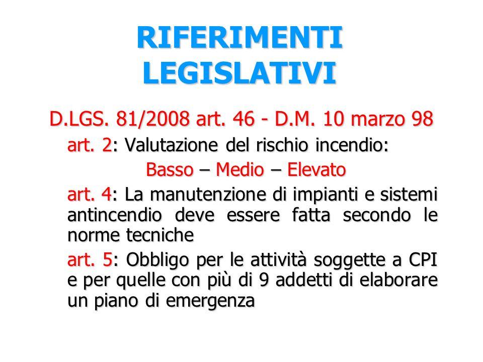 D.Lgs 81/2008 D. Lgs 81/2008 art. 18 comm 1 lett.