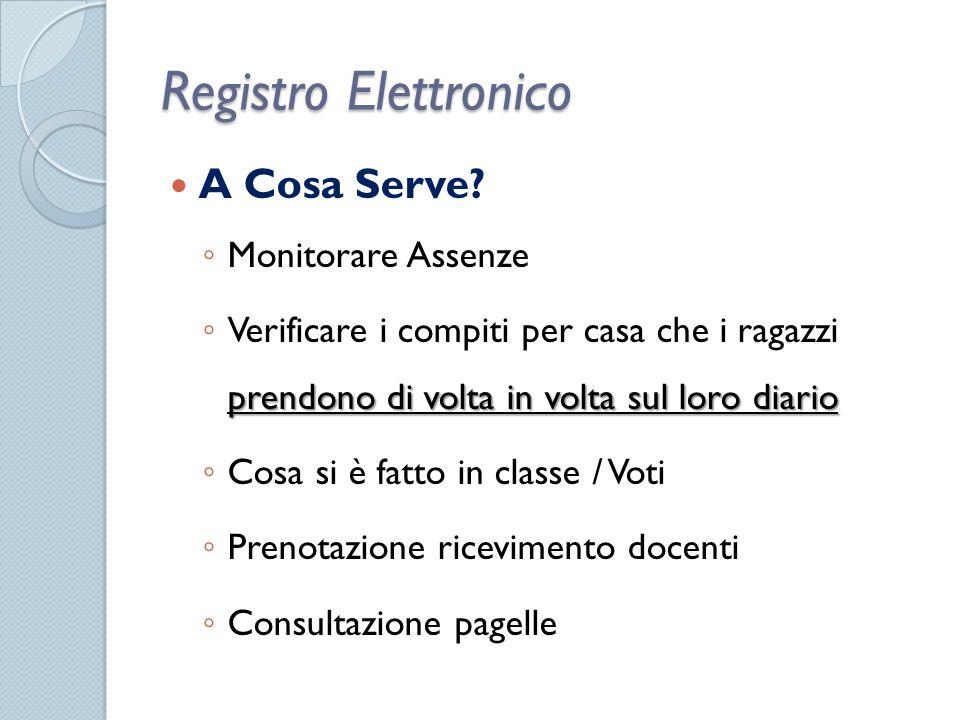 Registro Elettronico A Cosa Serve.