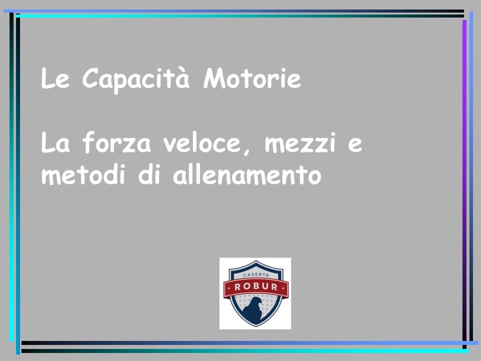 Le capacità motorie Ciascun individuo esprime azioni motorie efficaci e complesse secondo il livello delle proprie capacità motorie.