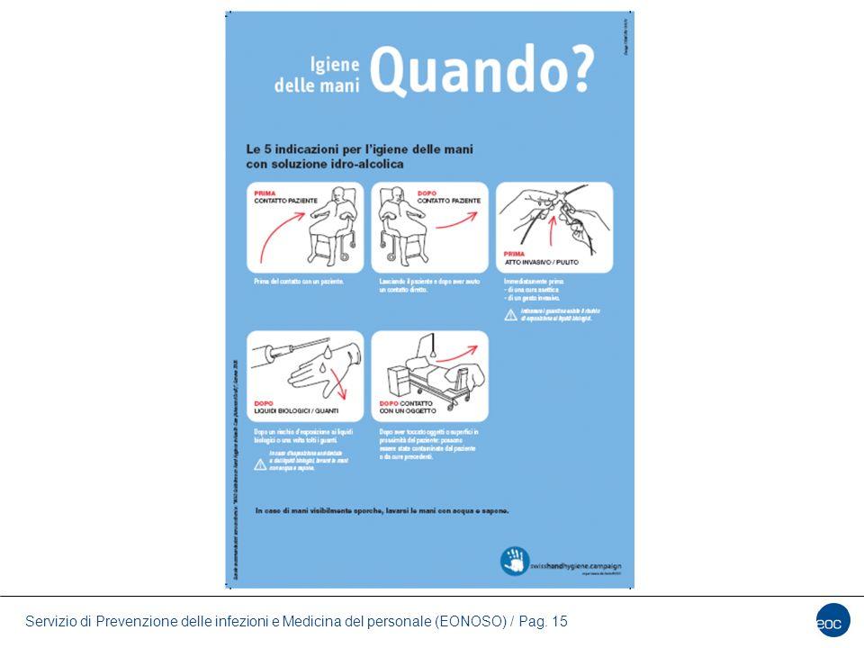 Servizio di Prevenzione delle infezioni e Medicina del personale (EONOSO) / Pag. 15