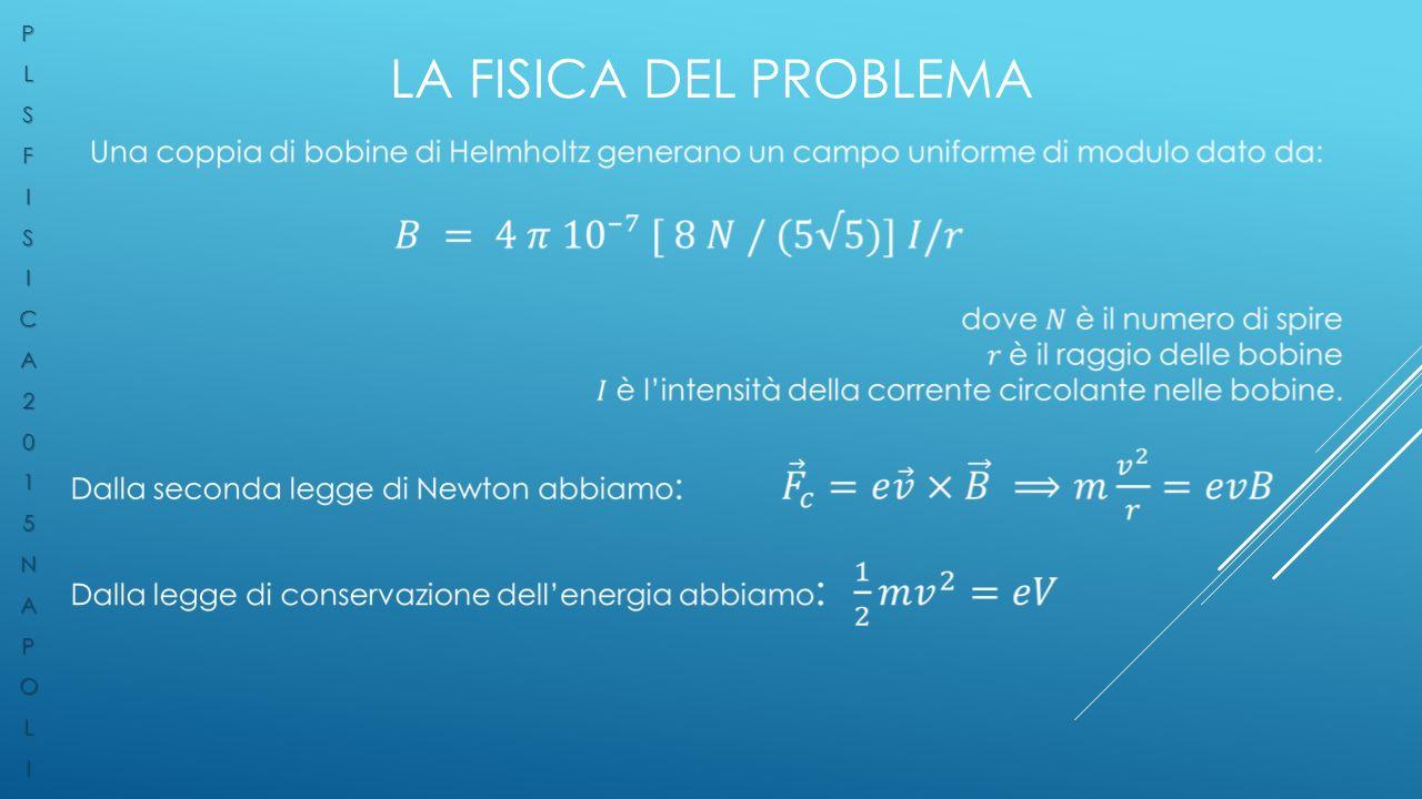 LA FISICA DEL PROBLEMA PLSFISICA2015NAPOLI