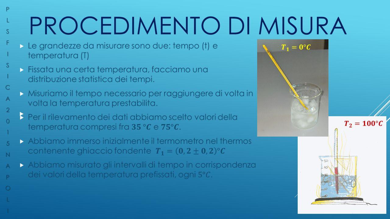 PROCEDIMENTO DI MISURA  PLSFISICA2015NAPOLI