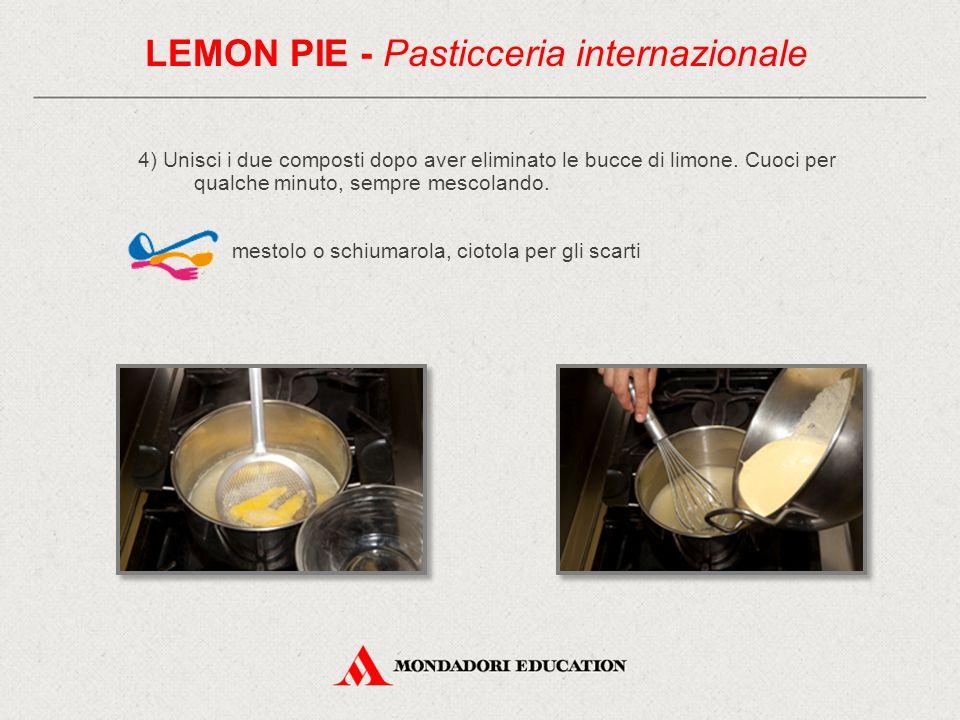 5) Riempi lo stampo di pasta frolla con la crema così ottenuta.